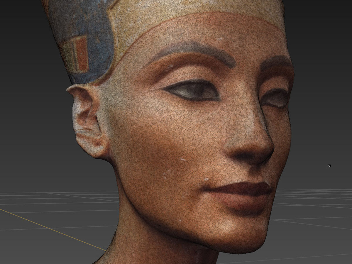 Nefertiti 3D from Photogrammetry