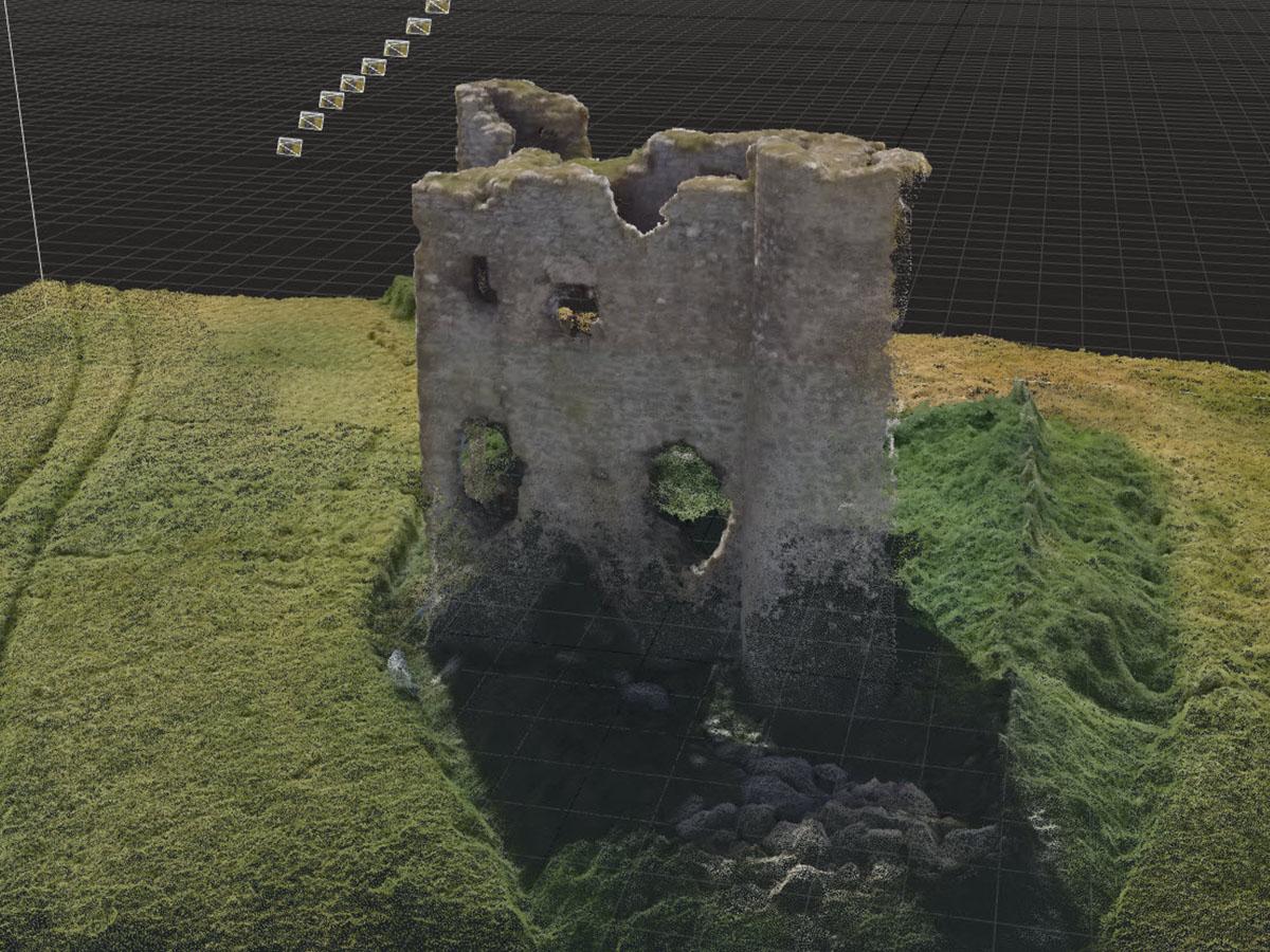 Burt Castle 3D