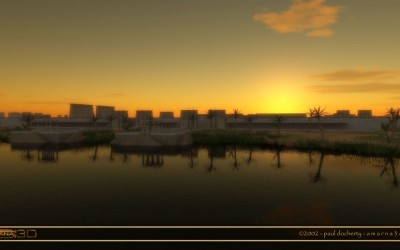 Sunrise over the Quayside