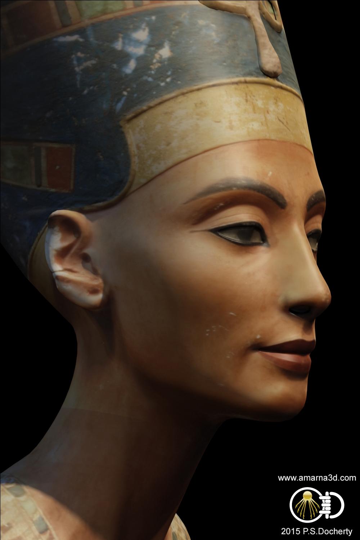 Amarna 3D - Nefertiti Bust 3D Reconstruction