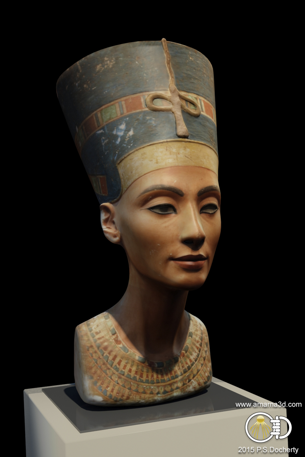 Amarna 3D - Nefertiti Bust 3D Reconstruction