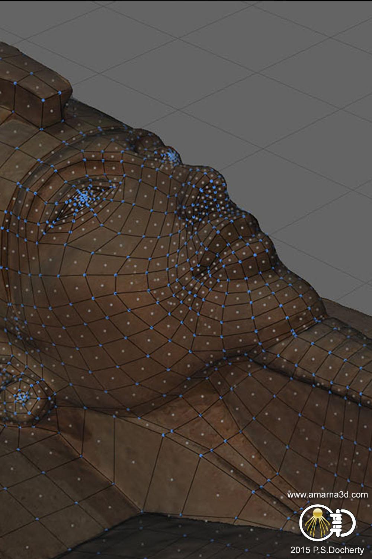 Amarna 3D - Akhenaten Bust 3D Reconstruction