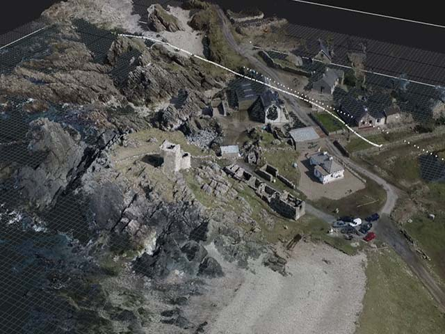 Carrickabraghey Castle (Inishowen)