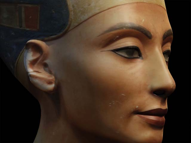 3D Modelling the Bust of Nefertiti