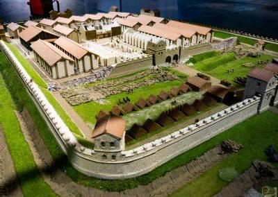 Arbeia Roman Fort Model 1