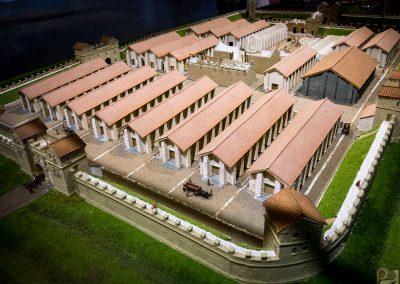 Arbeia Roman Fort Model 2