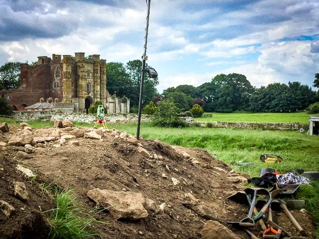 Thornton Abbey 2016 (week 2)